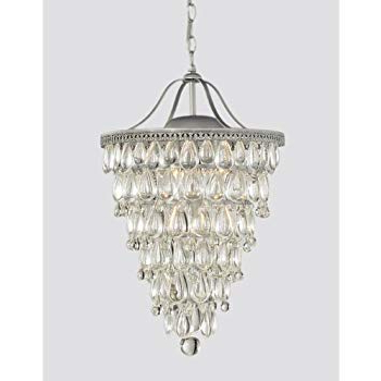 Bramers 6 Light Novelty Chandeliers In Latest Amazon: Wesley Crystal 6 Light Chandelier With Clear (View 9 of 25)