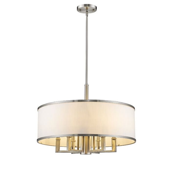 Breithaup 7 Light Drum Chandelier With Regard To Fashionable Breithaup 7 Light Drum Chandeliers (Gallery 5 of 25)