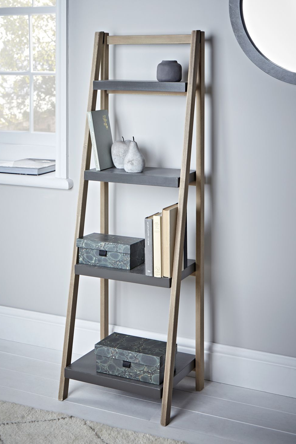 Brock Ladder Bookcases Within 2020 These Are Farrow & Ball's Must Have Colours For  (View 9 of 20)
