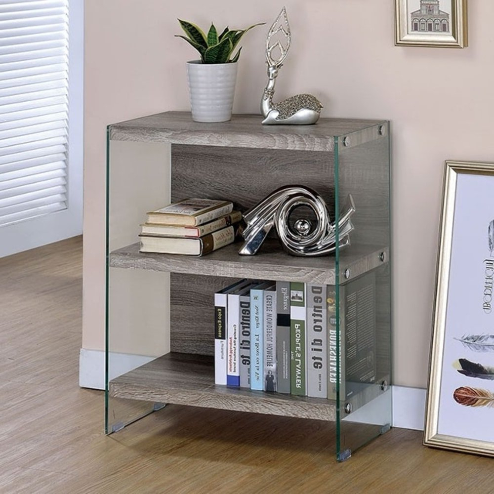 Brodbeck Standard Bookcase With Regard To Preferred Daria Standard Bookcases (View 5 of 20)