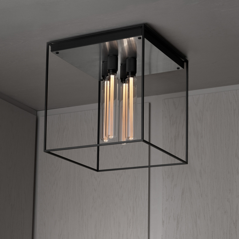 Buster 5 Light Drum Chandeliers Throughout Trendy Caged Ceiling (View 25 of 25)