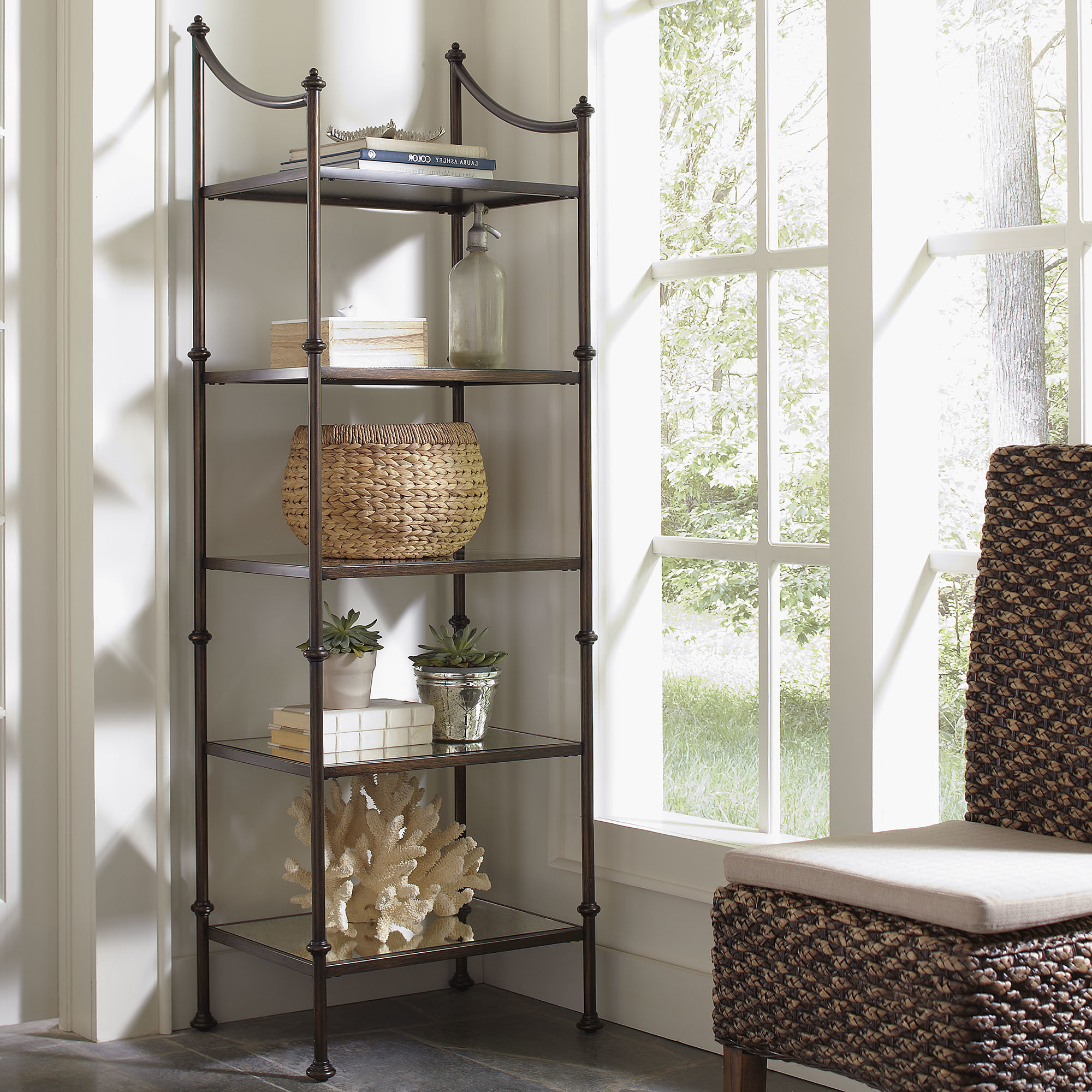 Caldwell Etagere Bookcase Within Widely Used Oakside Etagere Bookcases (View 19 of 20)