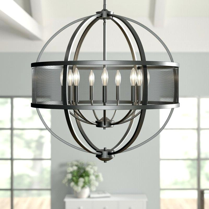 Camilla 9 Light Candle Style Chandeliers With Most Popular Camilla Globe Chandelier – Tubsafe (View 10 of 25)