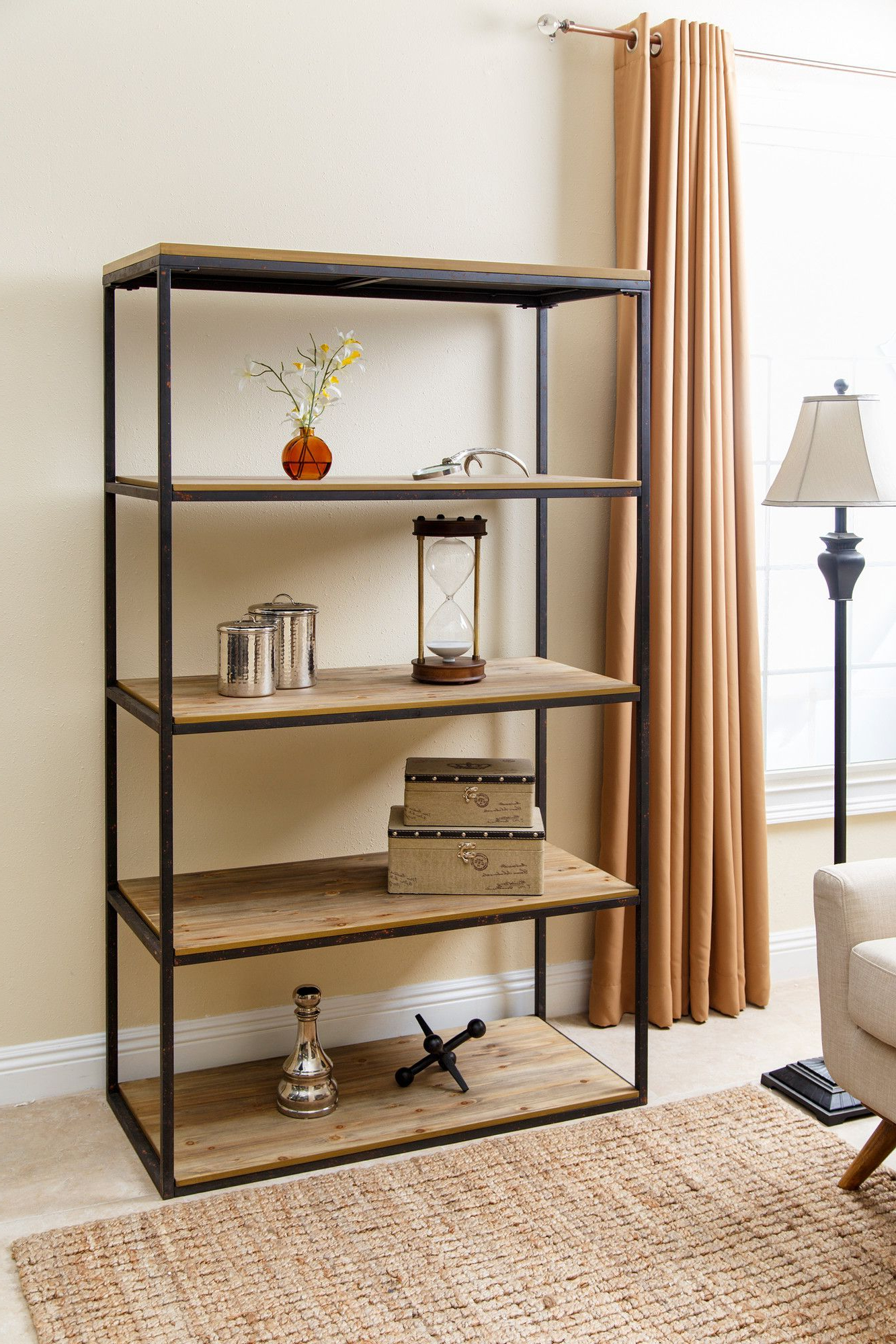 Capriola Etagere Bookcase (View 15 of 20)