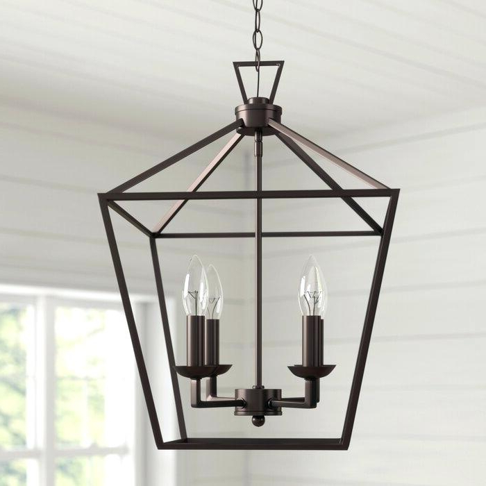Carmen 8 Light Lantern Geometric Pendants Inside Fashionable Lantern Light Fixture – Lightnepal (View 11 of 25)