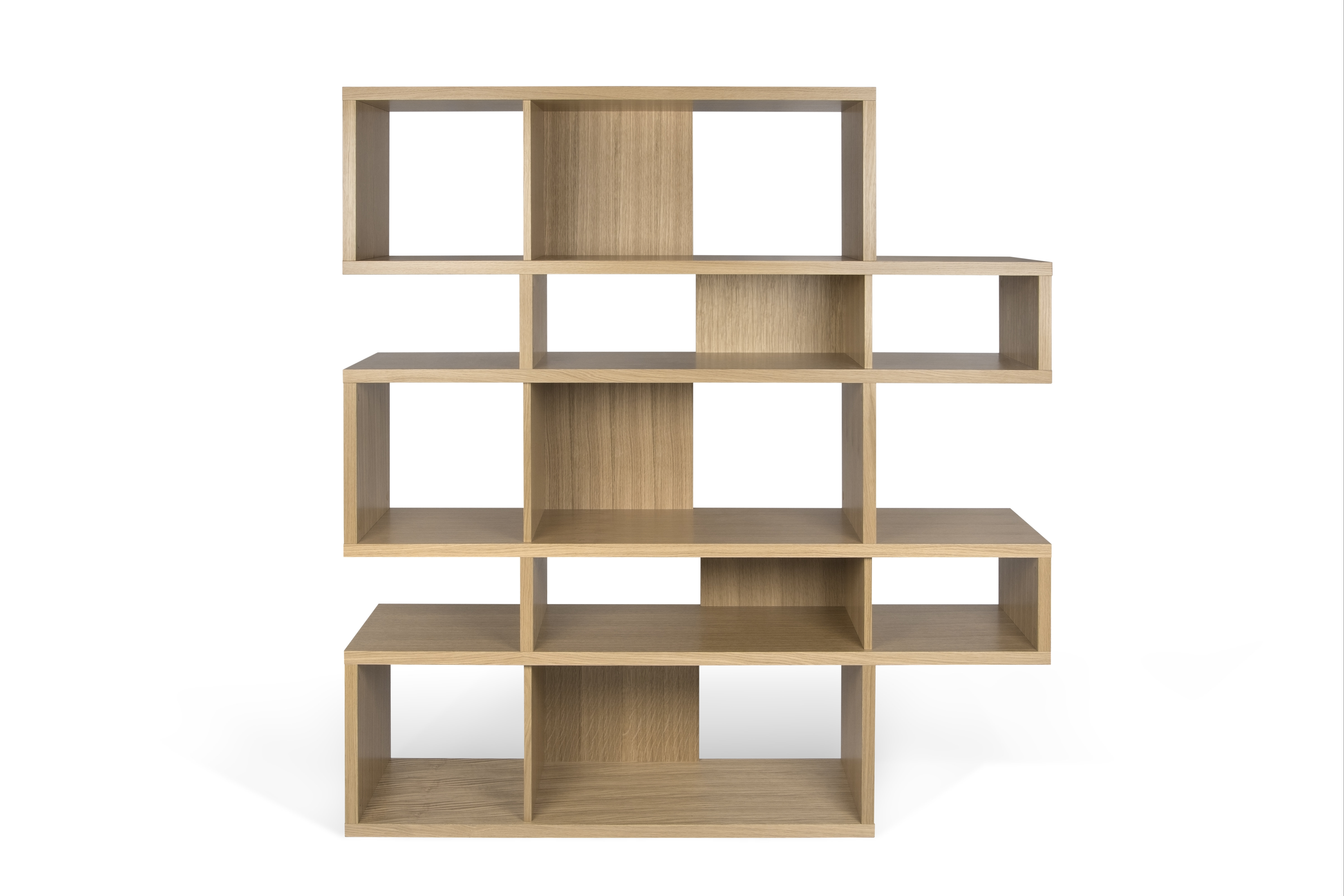 Carnageeragh Geometric Bookcases Intended For Well Liked Latitude Run Twomey Composition Geometric Bookcase (Gallery 20 of 20)