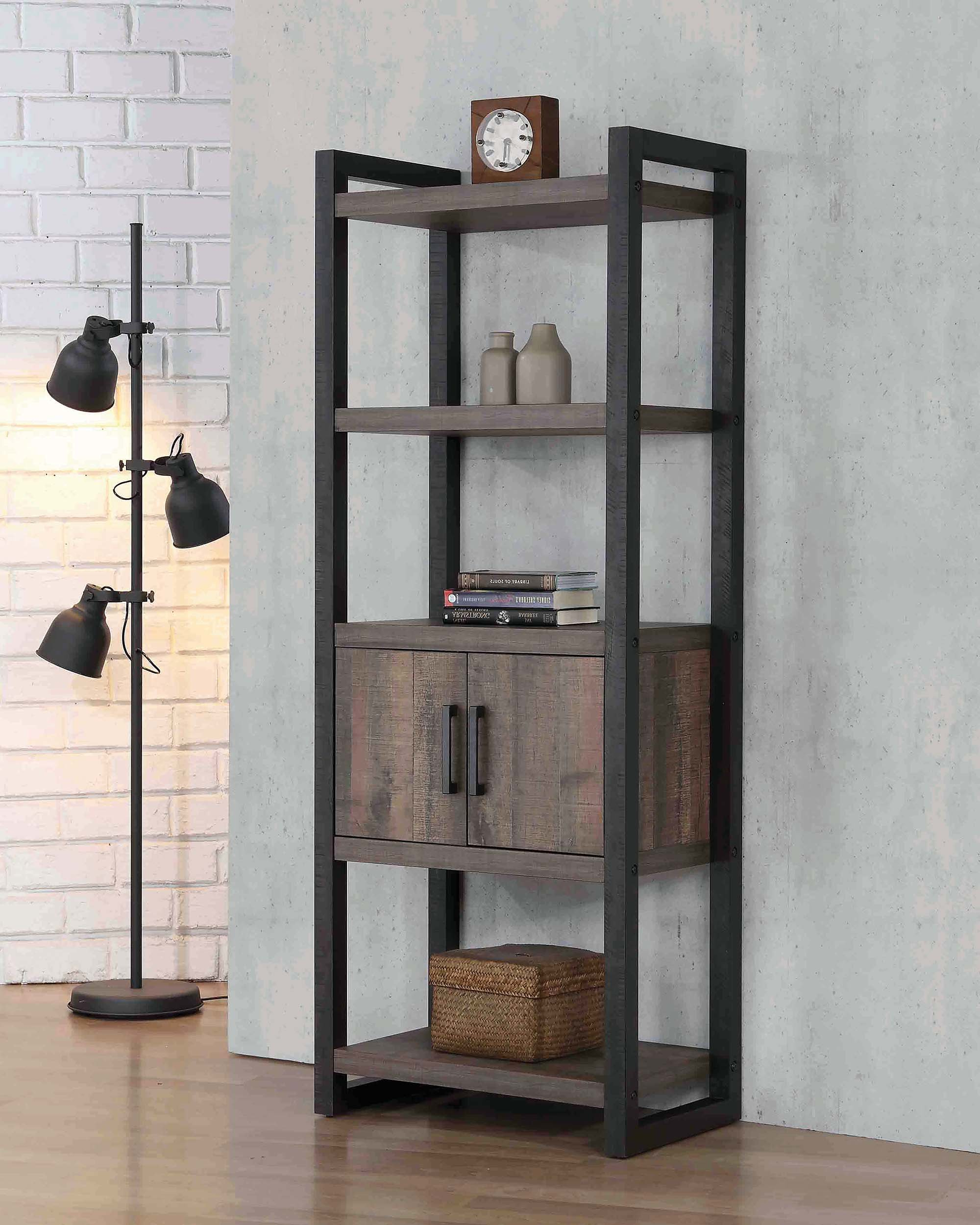 Carner Etagere Bookcase In Newest Rossman Etagere Bookcases (View 3 of 20)