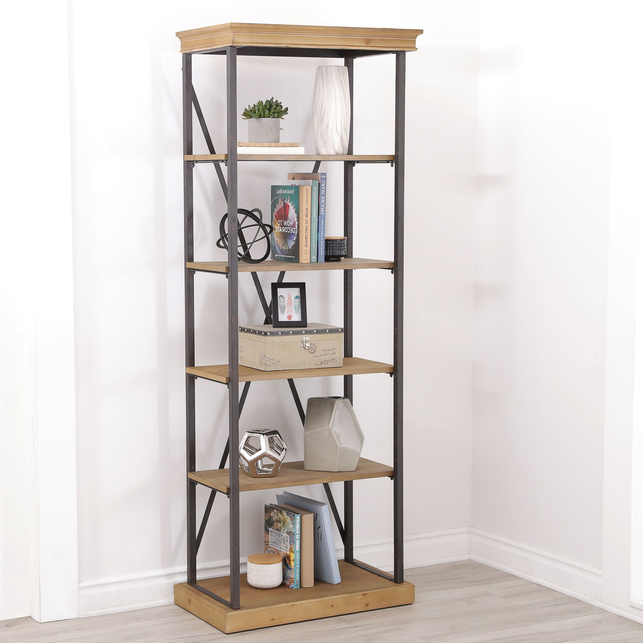 Cecelia Etagere Bookcases For Most Recently Released Amberly Etagere Bookcase (View 18 of 20)