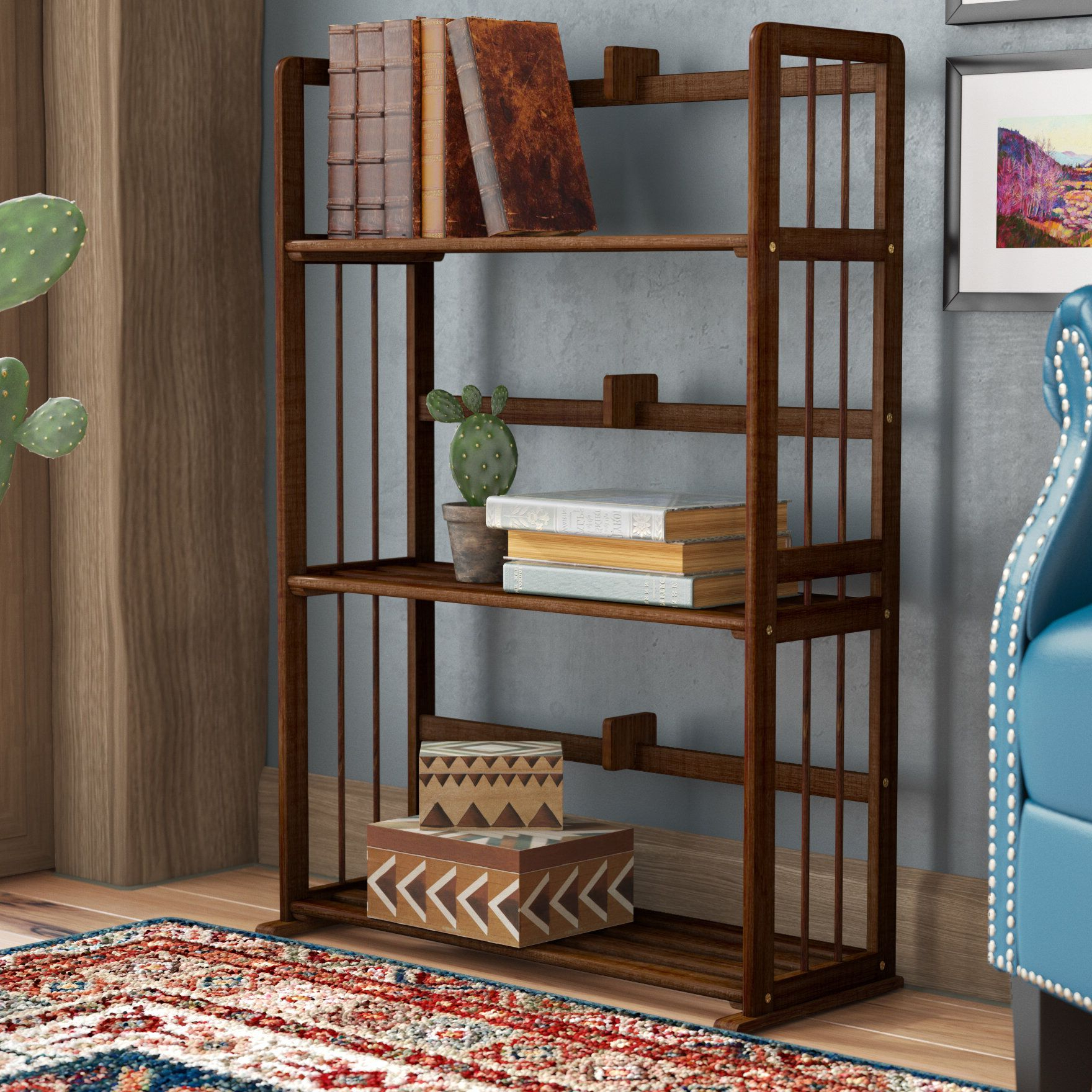 Cecelia Etagere Bookcases With Most Up To Date Lapidge Etagere Bookcase (Gallery 8 of 20)
