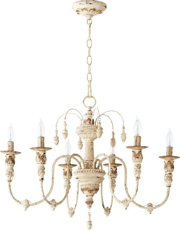 Chandelier With 2017 Paladino 6 Light Chandeliers (Gallery 5 of 25)