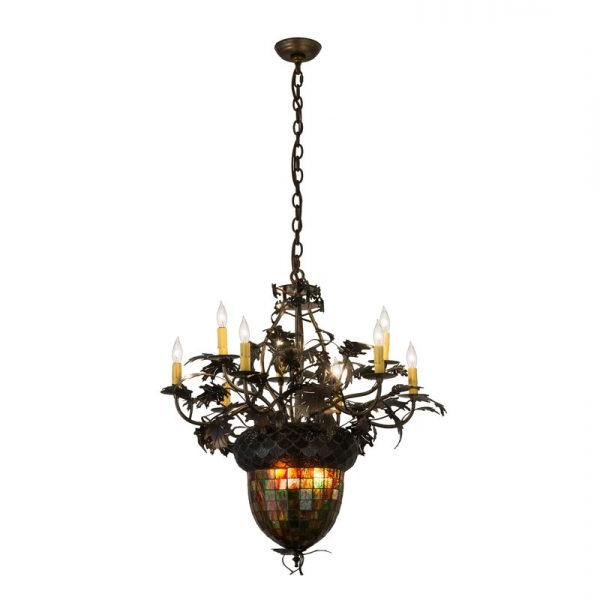 Chandeliers – Farmhouse Touches Inside Favorite Berger 5 Light Candle Style Chandeliers (View 12 of 25)