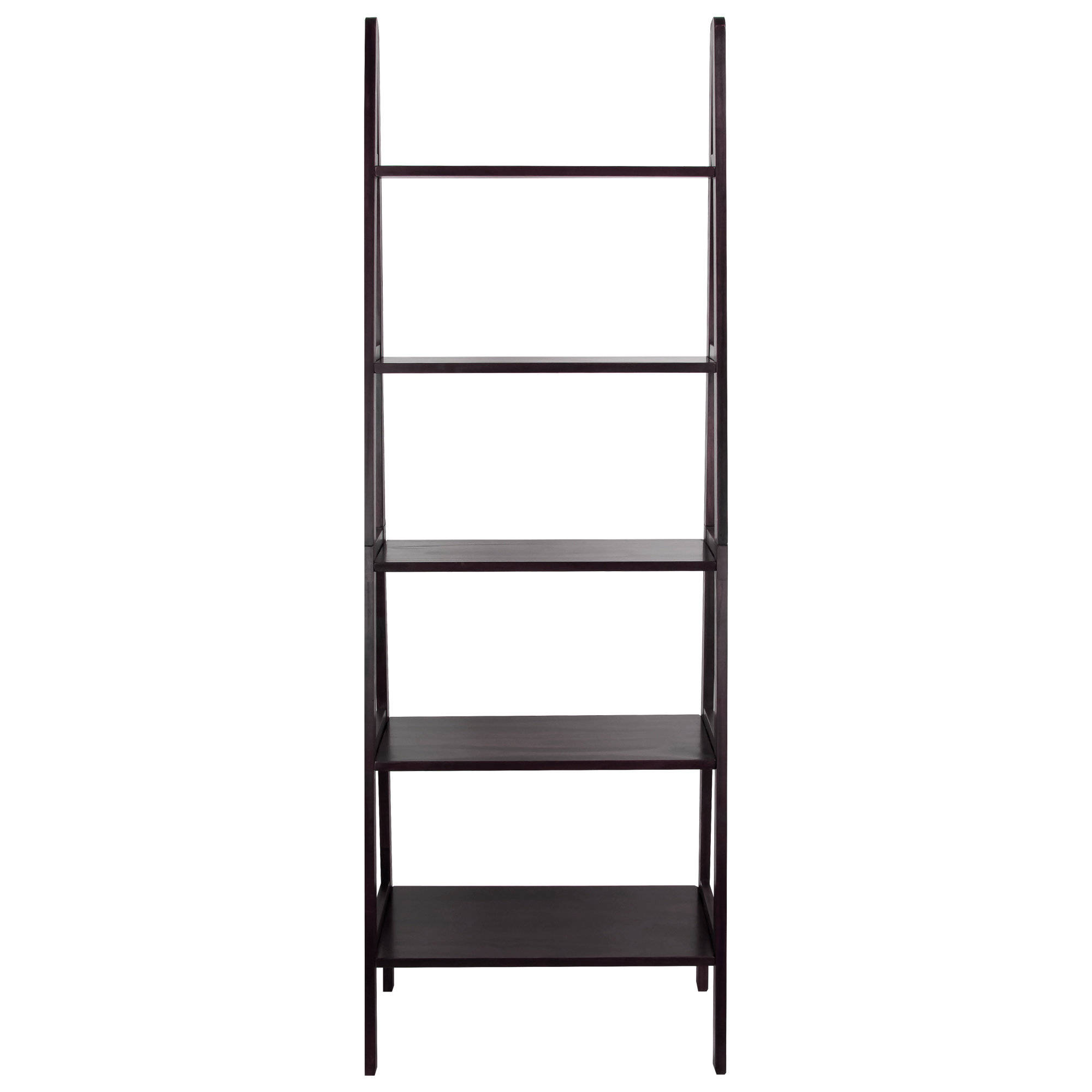 Channing Ladder Bookcase With Regard To Popular Almanzar Ladder Bookcases (View 8 of 20)