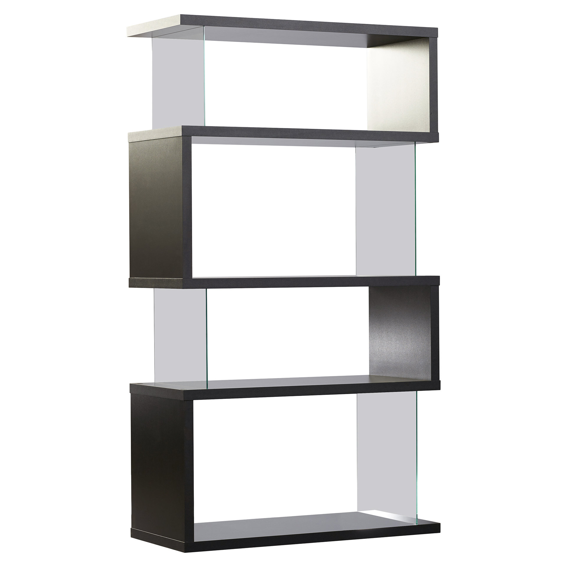 Chantilly Geometric Bookcases Within Widely Used Ignacio Standard Bookcase & Reviews (View 14 of 20)