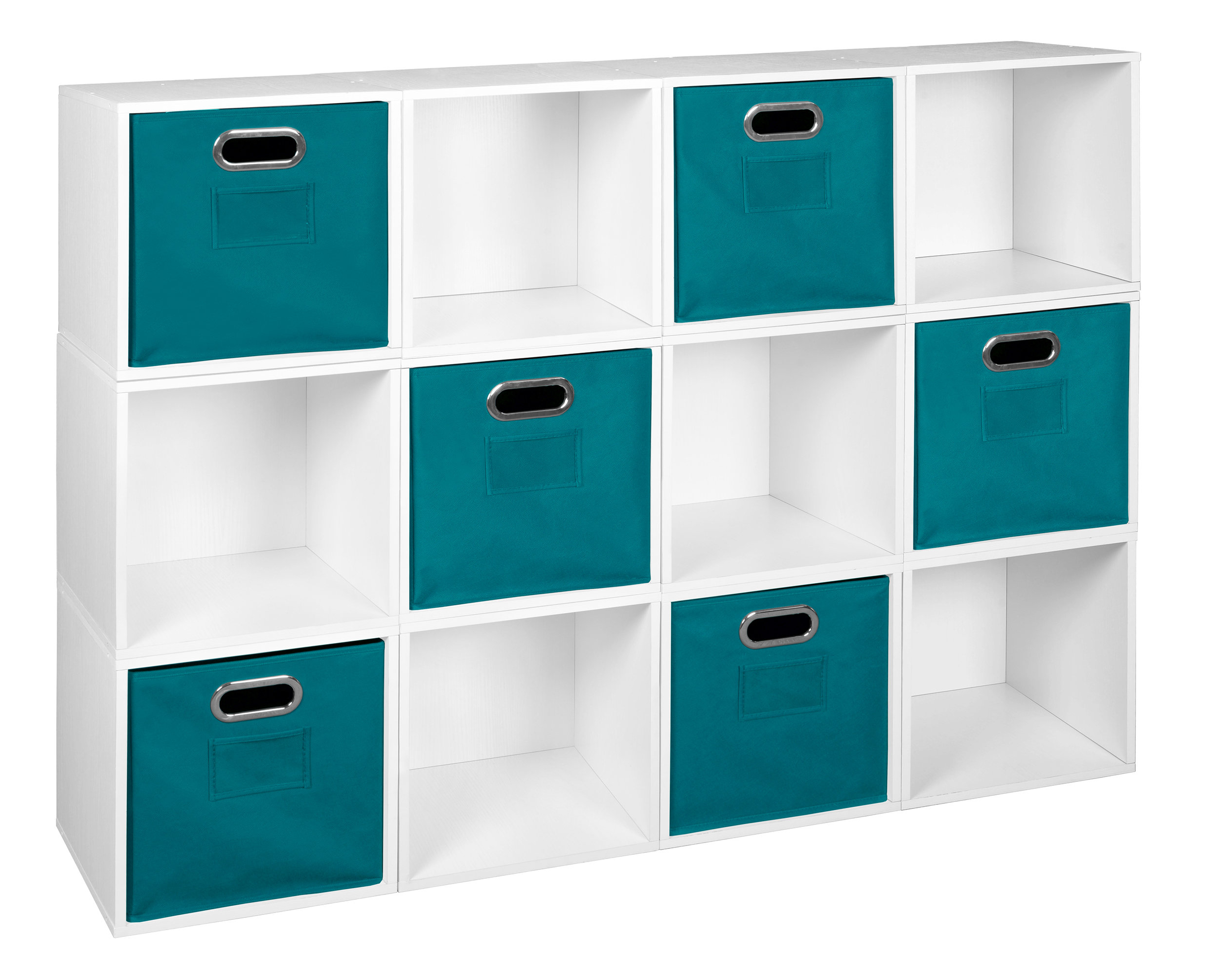 Chastain Storage Cube Unit Bookcase Regarding Best And Newest Chastain Storage Cube Unit Bookcases (View 4 of 20)