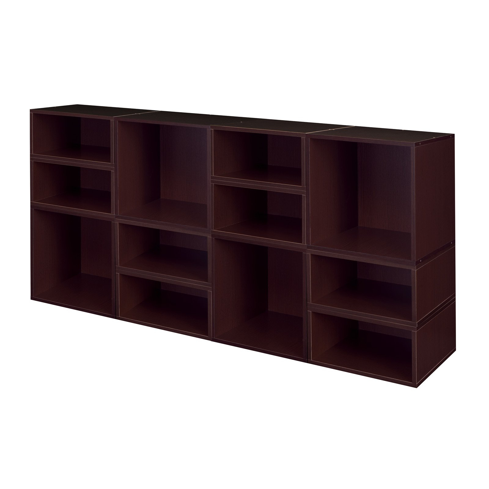 Chastain Storage Cube Unit Bookcases Throughout Widely Used Regency Niche Cubo Modular Storage Shelf With Optional 4 (Gallery 16 of 20)