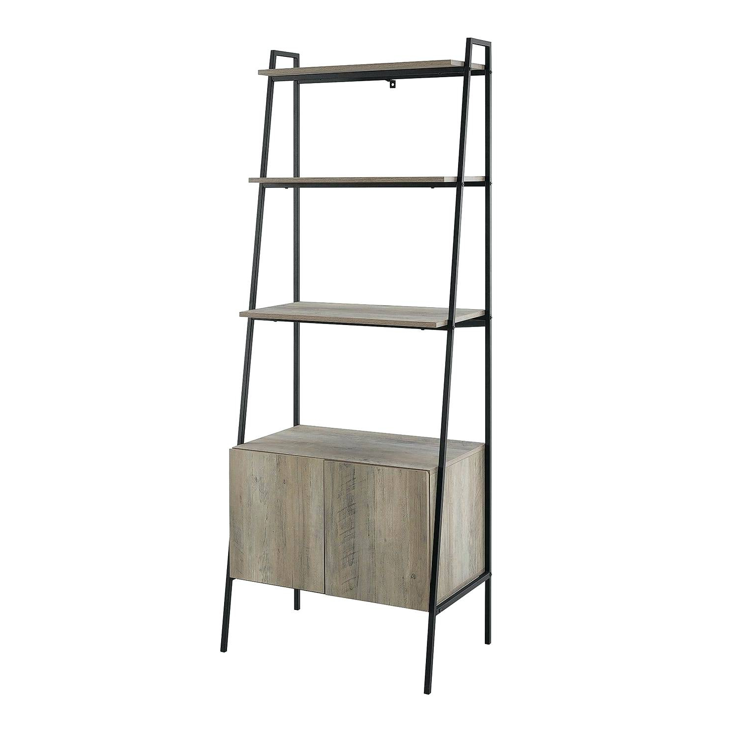 Cheap Ladder Bookshelf – Vibgyorarts.co Throughout Well Liked Bordelon Slatted Ladder Bookcases (Gallery 12 of 20)