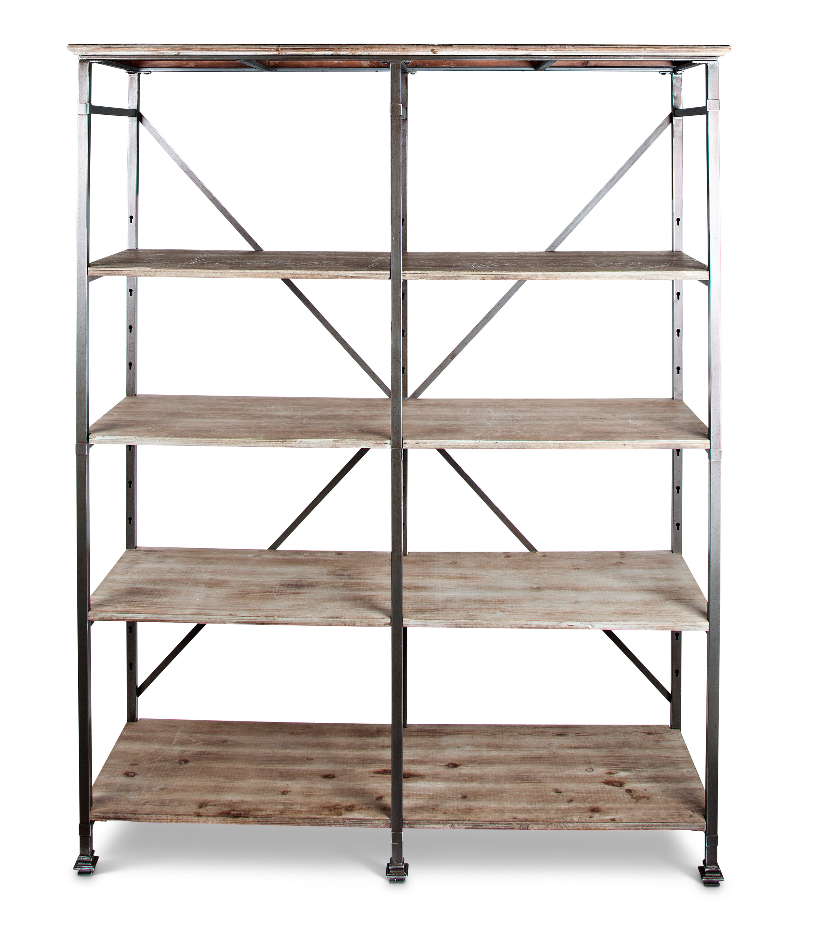 Cifuentes Dual Etagere Bookcases Pertaining To Newest Dear Heavy Iron Etagere Bookcase (View 14 of 20)