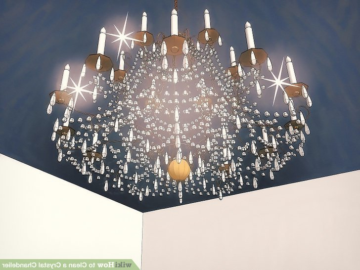 Clea 3 Light Crystal Chandeliers Pertaining To Fashionable 3 Ways To Clean A Crystal Chandelier – Wikihow (Gallery 10 of 25)
