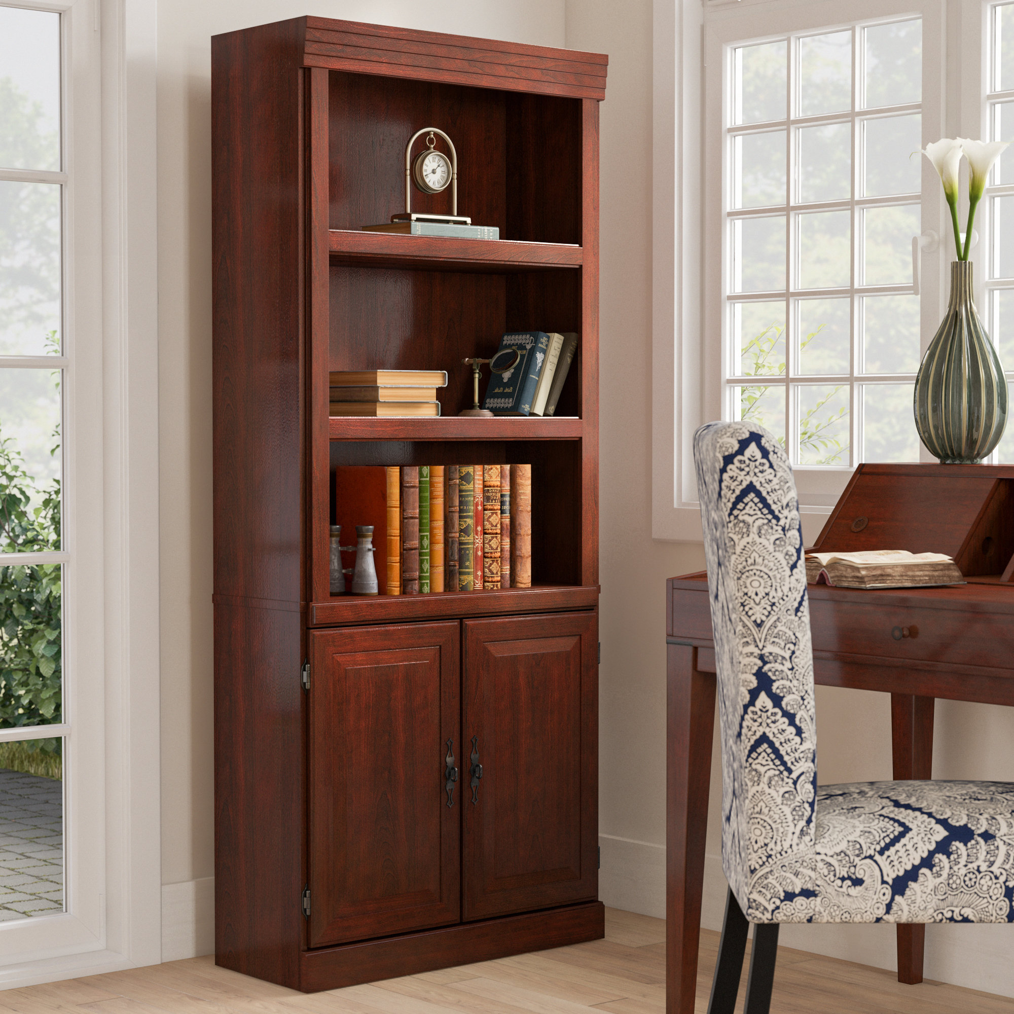 Clintonville Standard Bookcase Throughout Trendy Series C Standard Bookcases (Gallery 14 of 20)