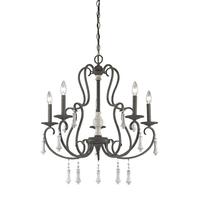 Corneau 5 Light Chandeliers Intended For 2018 Pollitt 5 Light Chandelier (View 8 of 25)