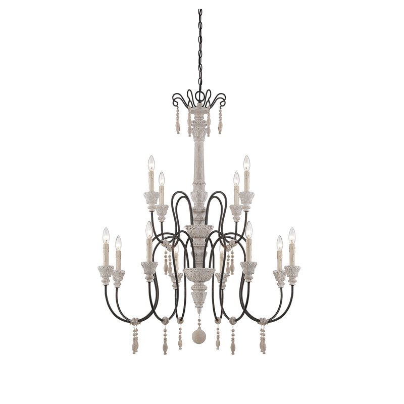 Corneau 5 Light Chandeliers Throughout 2018 Corneau 12 Light Chandelier (View 3 of 25)