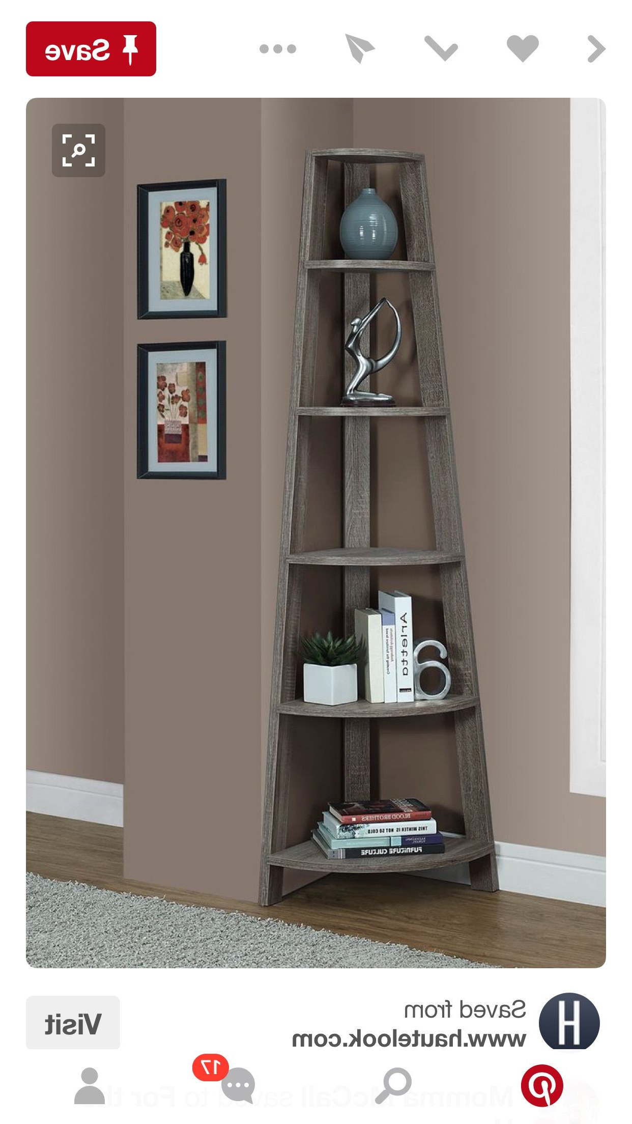 Corner Display With Taylorville Corner Bookcases (Gallery 20 of 20)