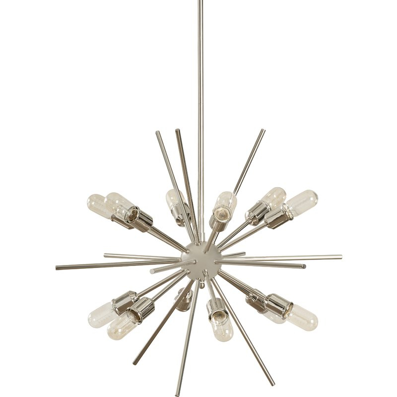 Corona 12 Light Sputnik Chandeliers Pertaining To Well Liked Corona 12 Light Sputnik Chandelier (Gallery 4 of 25)
