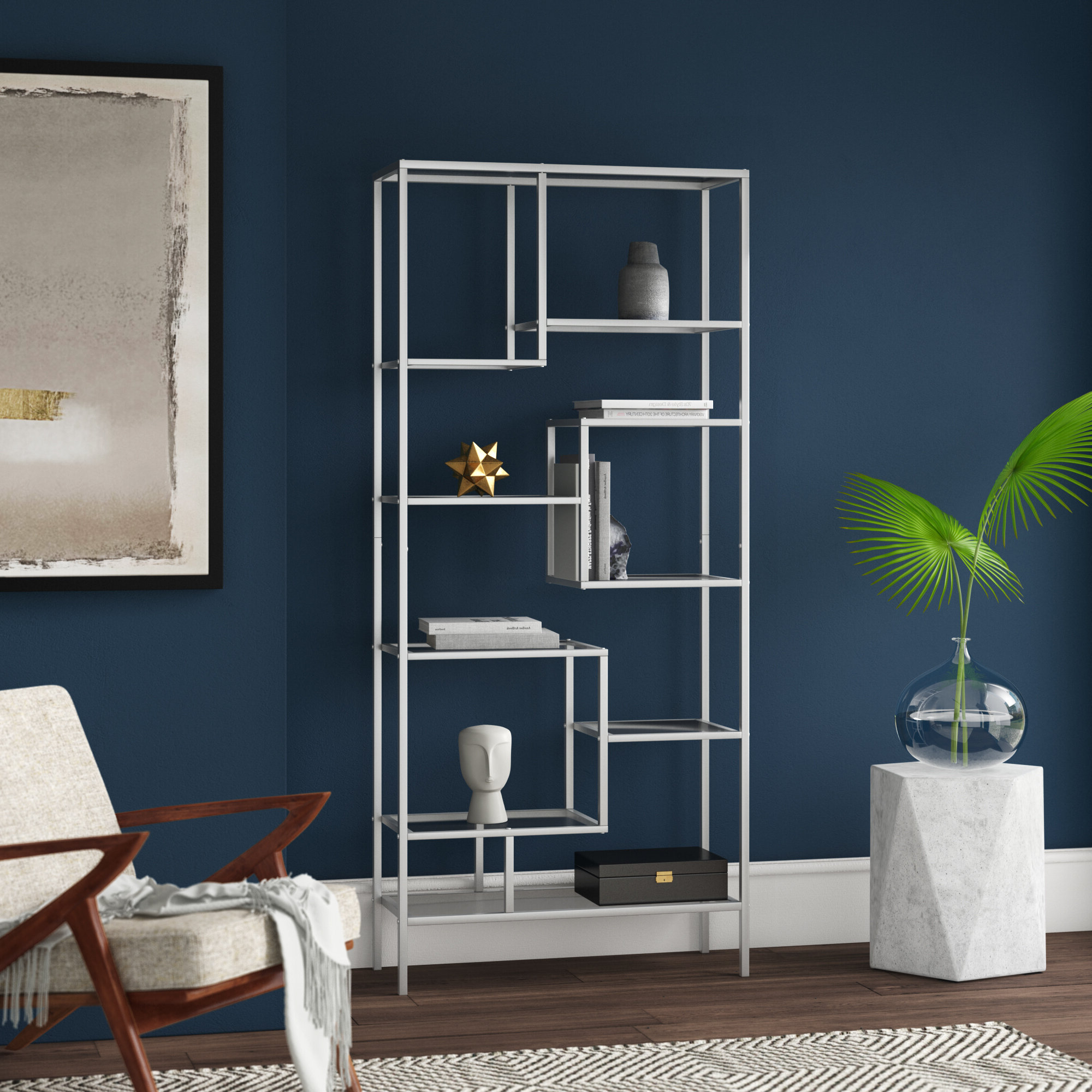 Coss Etagere Bookcase & Reviews (View 12 of 20)