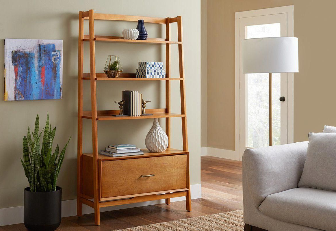 Crowley Standard Bookcase In  (View 2 of 20)