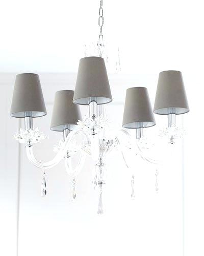 Crystal And Iron Five Light Chandelier – Marianapruitt (View 5 of 25)