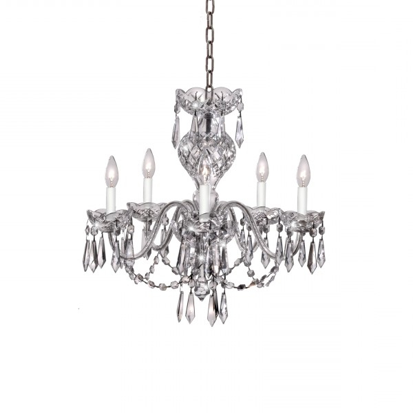 Crystal Chandeliers & Lighting – Waterford® Us Regarding Well Known Watford 6 Light Candle Style Chandeliers (View 23 of 25)