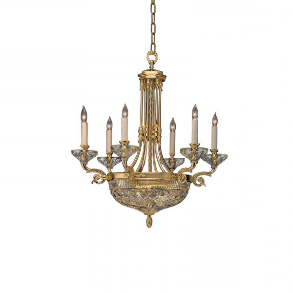 Crystal Chandeliers & Lighting – Waterford® Us With Regard To Trendy Watford 6 Light Candle Style Chandeliers (View 21 of 25)