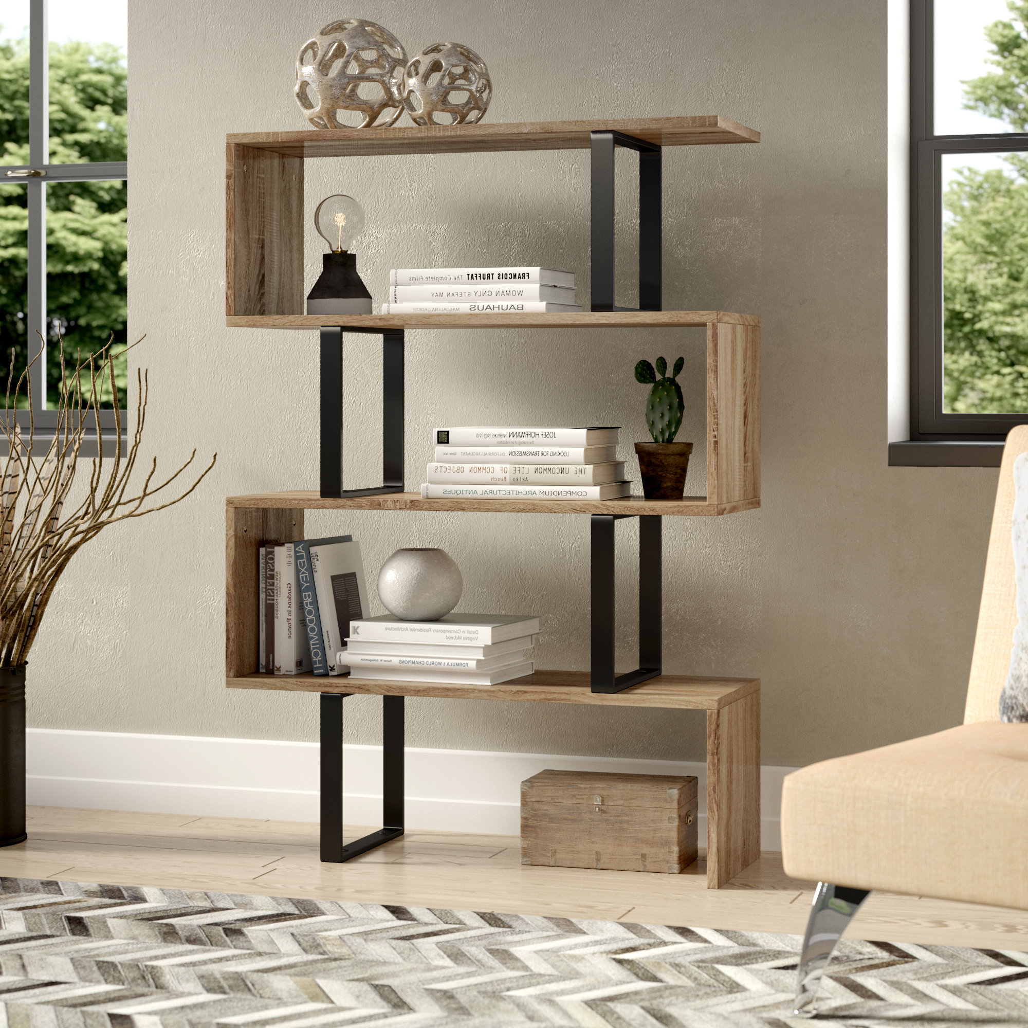 Cullison Standard Bookcases Within Trendy Drowne Standard Bookcase (View 3 of 20)