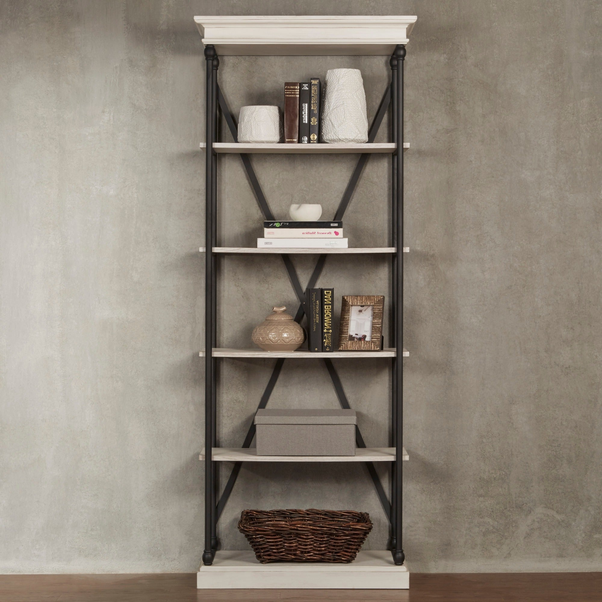 Current Adair Etagere Bookcases Pertaining To Barnstone Cornice Etagere Bookcaseinspire Q Artisan (View 17 of 20)