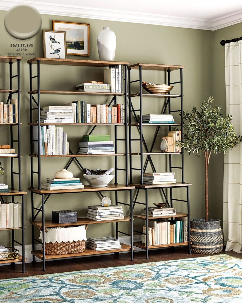 Current Aptos Etagere Bookcases Throughout Winter 2018 Catalog Paint Colors (View 18 of 20)
