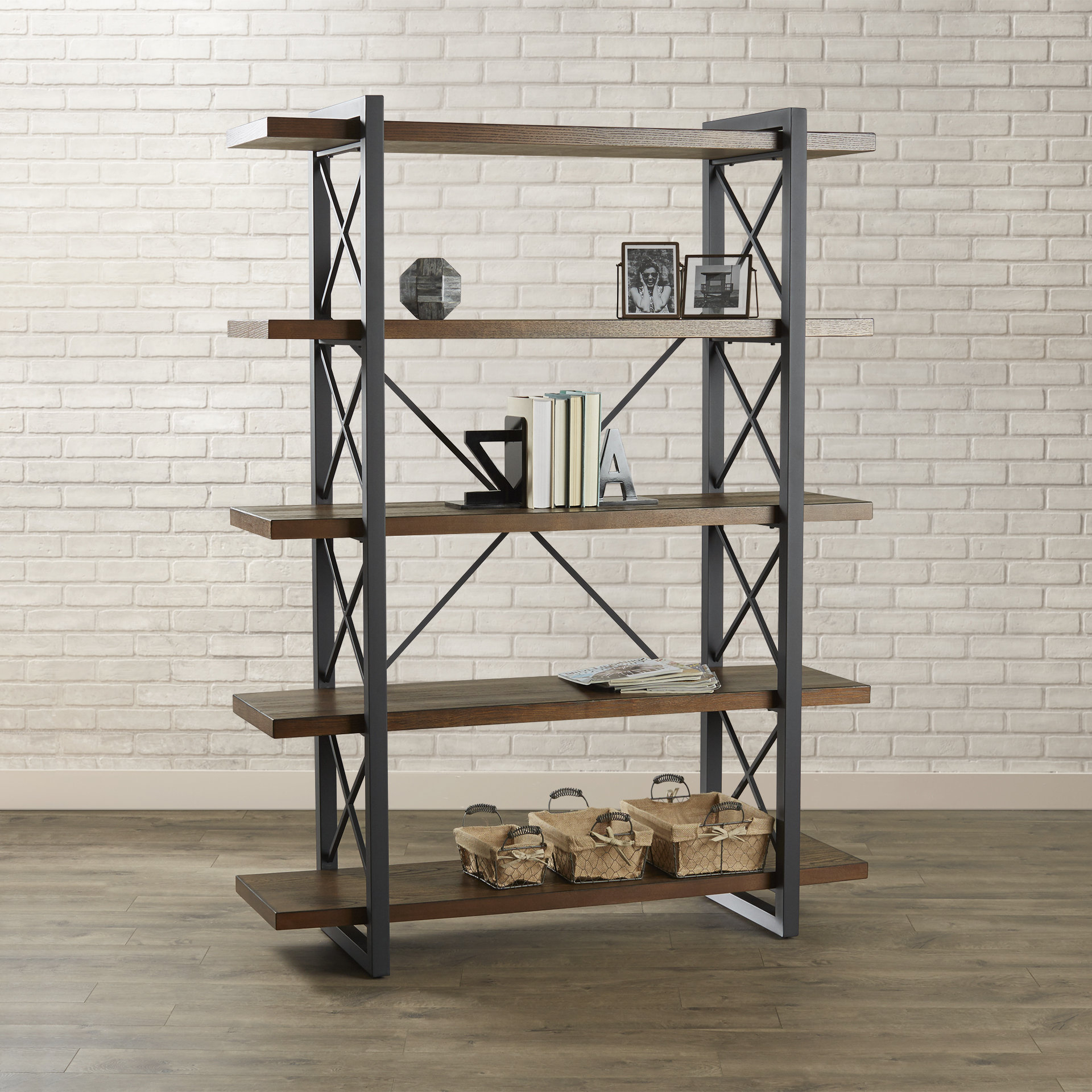 Current Babbitt Etagere Bookcases With Jenning Etagere Bookcase (View 6 of 20)