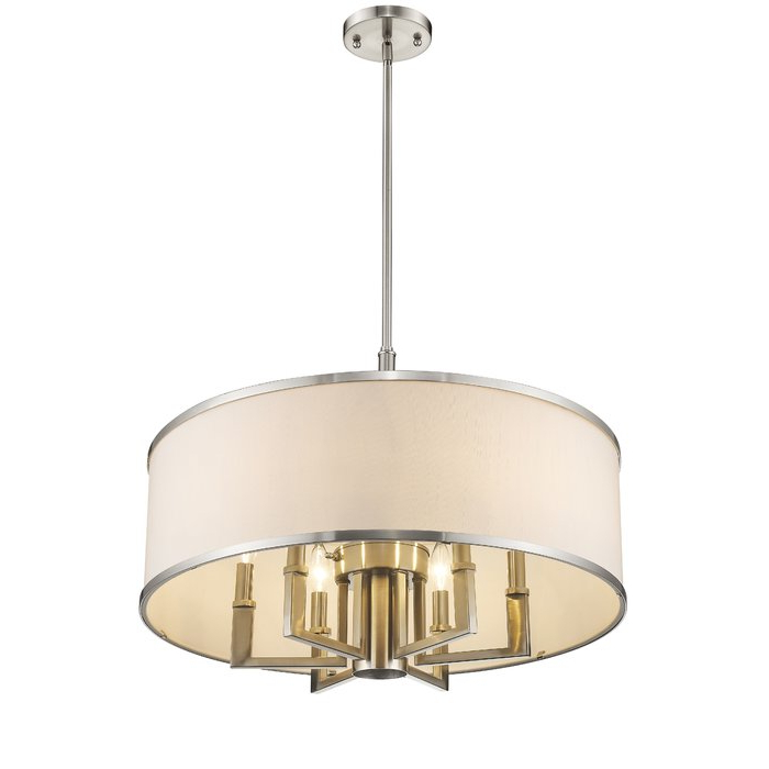 Featured Photo of Breithaup 4 Light Drum Chandeliers