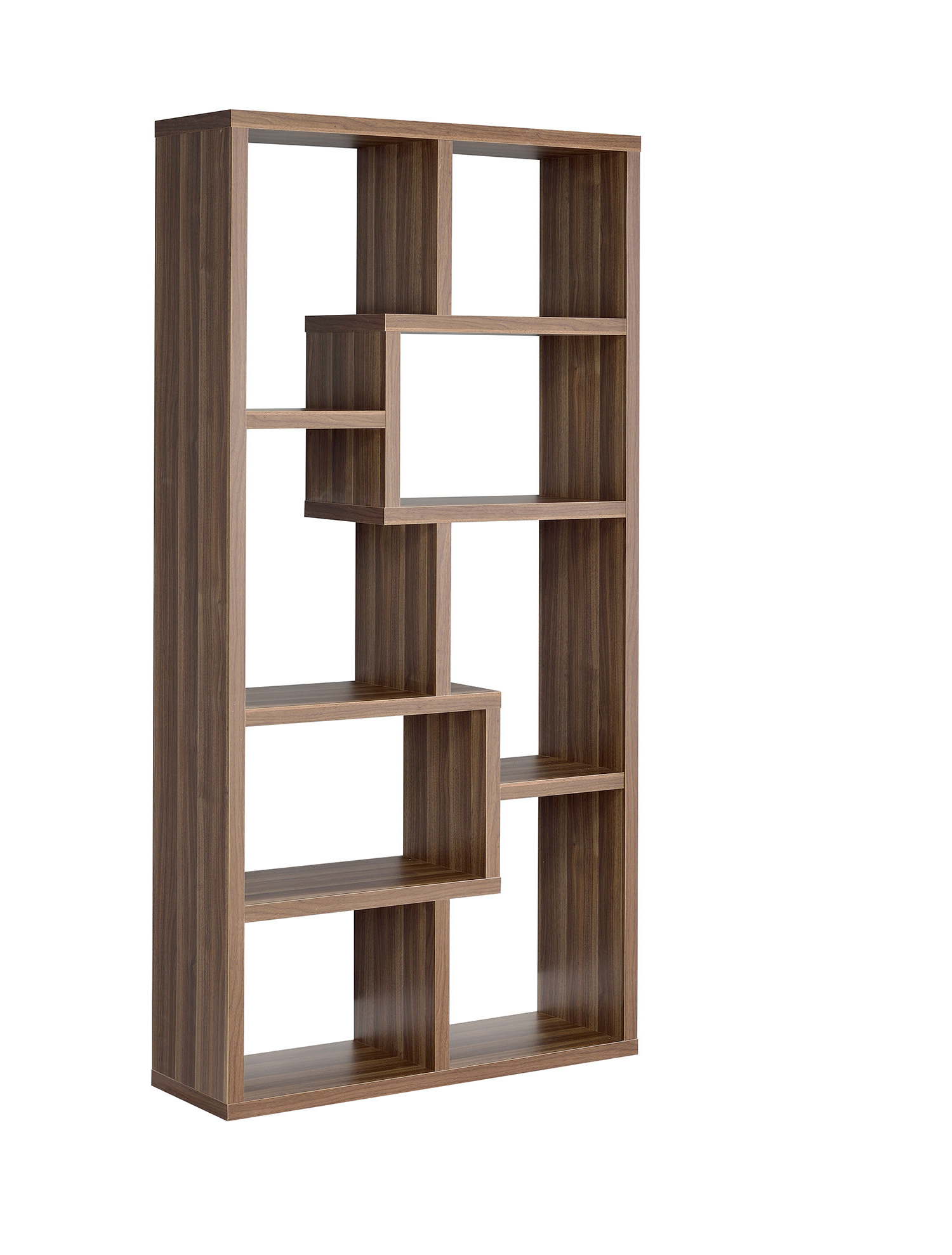 Current Chantilly Geometric Bookcases Intended For Flavius Geometric Bookcase (Gallery 7 of 20)