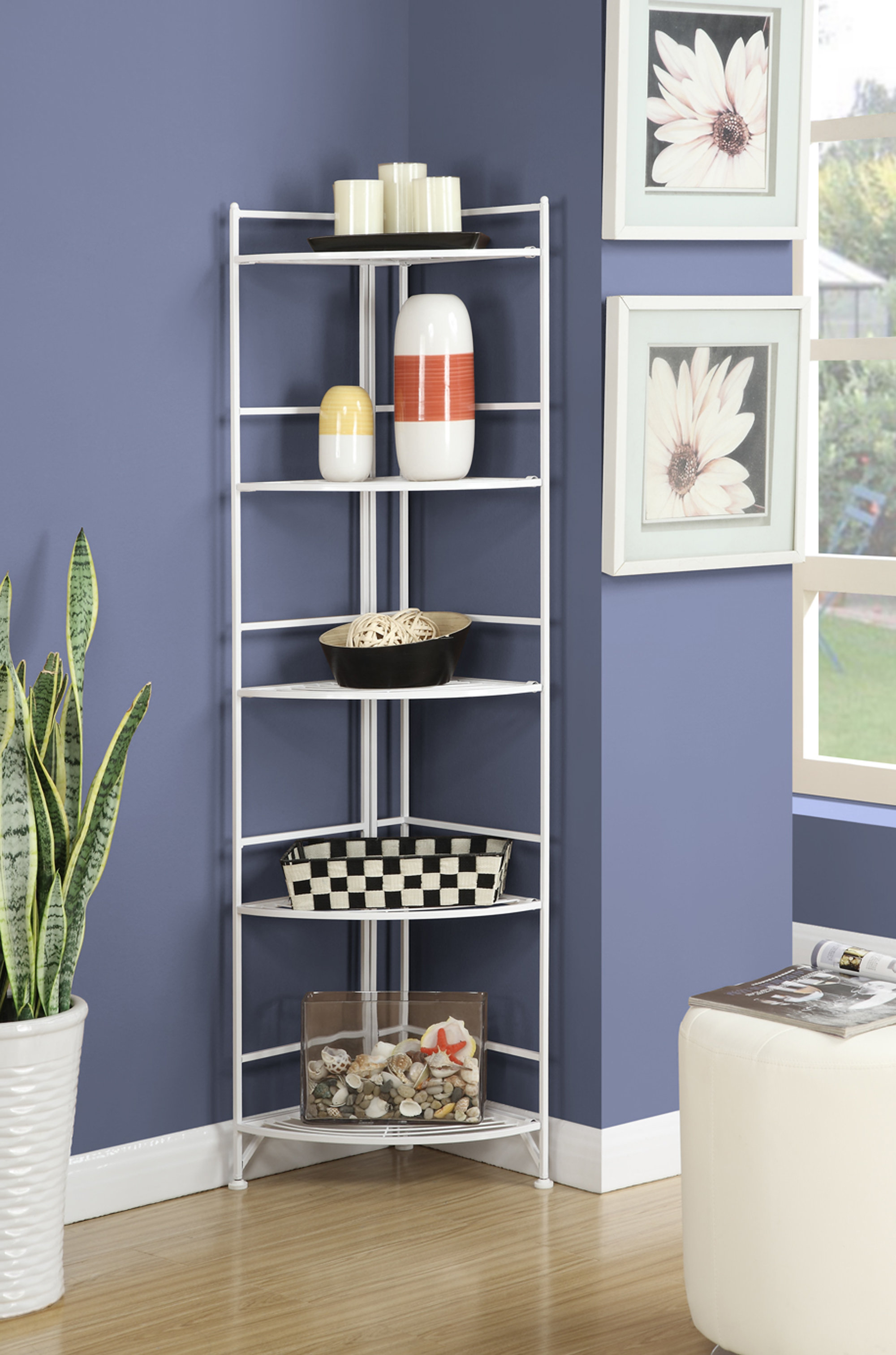 Current D'aulizio Corner Unit Bookcase Pertaining To Emerson Corner Unit Bookcases (Gallery 5 of 20)