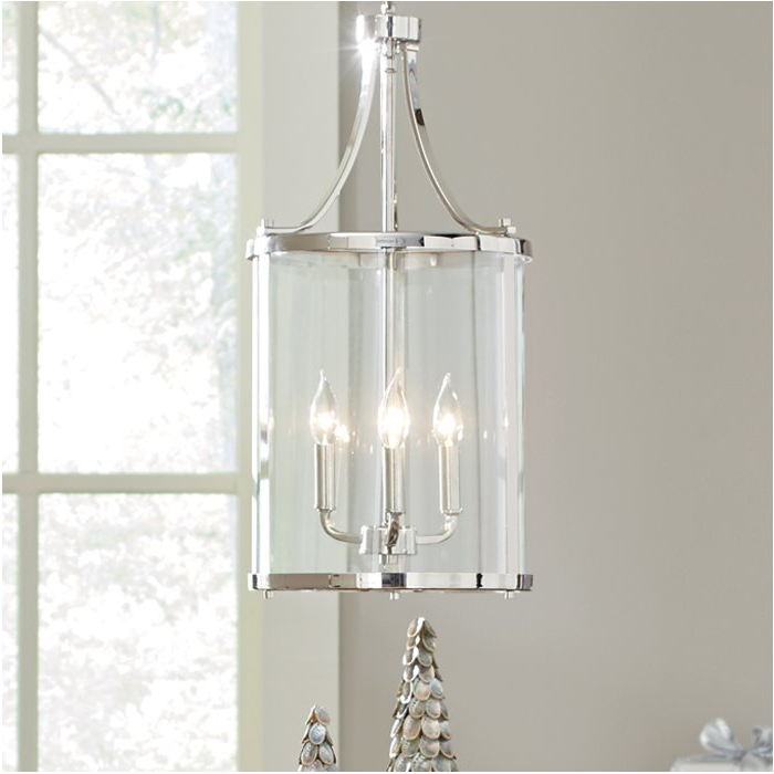 Current Gabriella 3 Light Lantern Chandeliers Intended For 3 Light Lantern Cylinder Pendant (View 2 of 25)