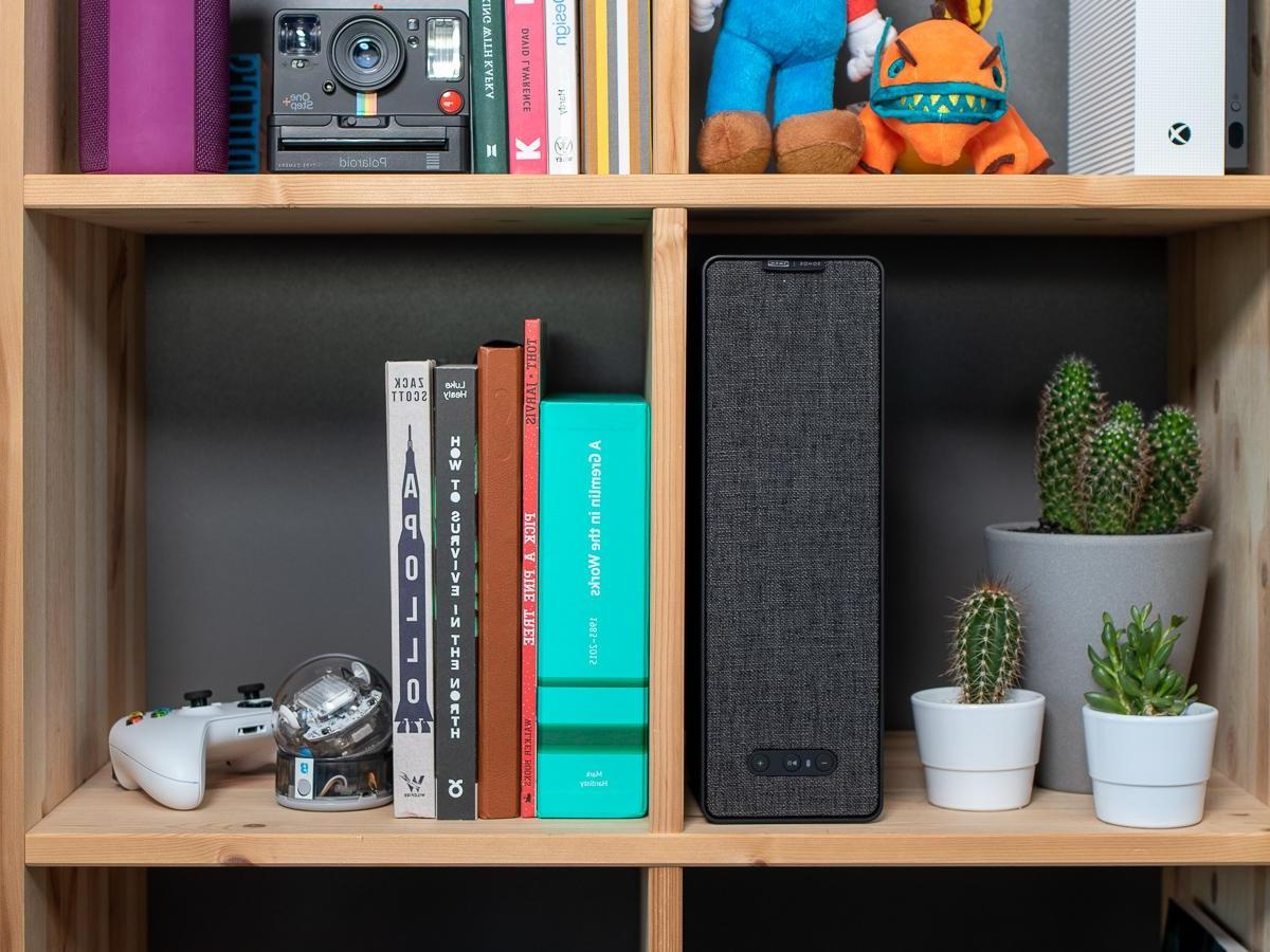 Current Ikea Sonos Symfonisk Bookshelf Speaker Review – Tech Advisor Intended For Zack Standard Bookcases (View 11 of 20)