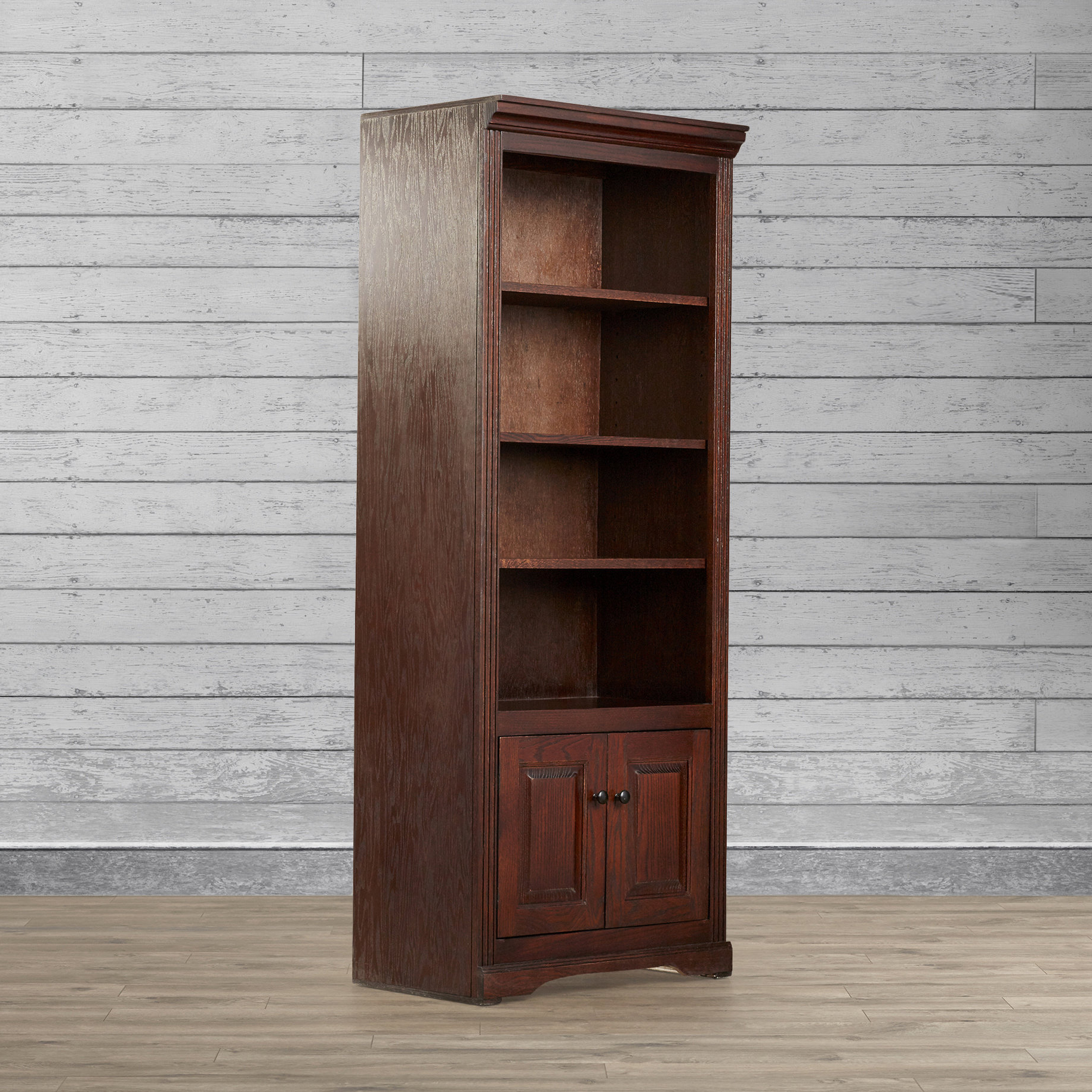 Current Kayli Standard Bookcases Within Glastonbury Standard Bookcase (View 16 of 20)