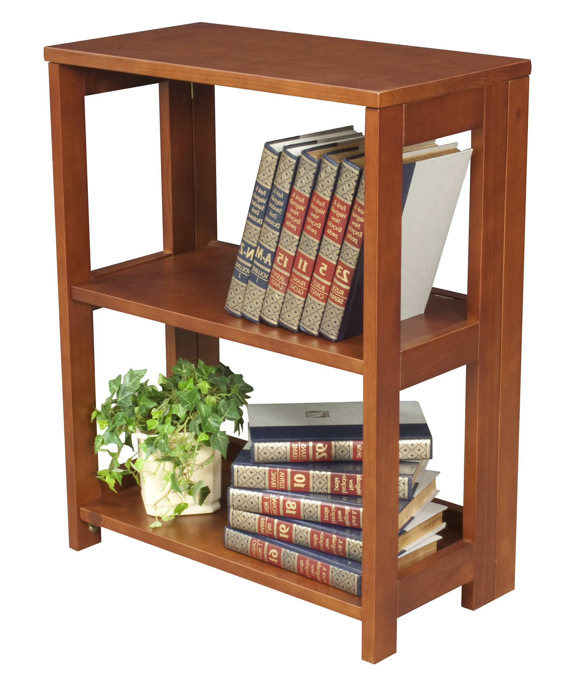 "Current Maryln Standard Bookcases Intended For Rebrilliant Belue 28"" High Folding Standard Bookcase (View 11 of 20)"
