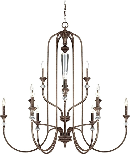 Current Paladino 6 Light Candle Style Chandelier (Gallery 23 of 25)
