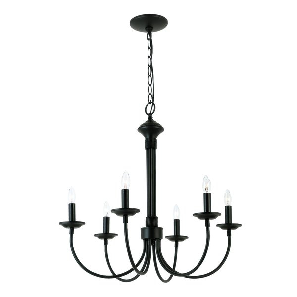 Current Shaylee 5 Light Candle Style Chandeliers Intended For Shaylee 6 Light Candle Style Chandelier (View 7 of 25)