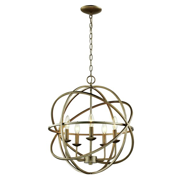 Current Verlene Foyer 5 Light Globe Chandeliers Throughout Hankinson 5 Light Globe Chandelier (View 6 of 25)