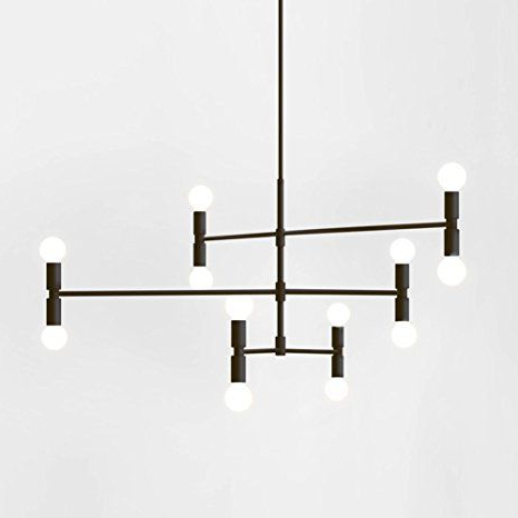 Current Yoka Modern Pendant Lighting Ceiling Chandelier Hanging Lamp Pertaining To Sherri 6 Light Chandeliers (View 10 of 25)