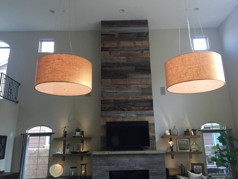 Custom 48 Inch Extra Large Drum Pendant Light Fixture With Widely Used Jill 4 Light Drum Chandeliers (View 19 of 25)