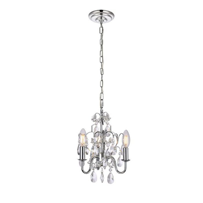 Dagnall 3 Light Candle Style Chandelier With Regard To Most Recent Aldora 4 Light Candle Style Chandeliers (View 11 of 25)