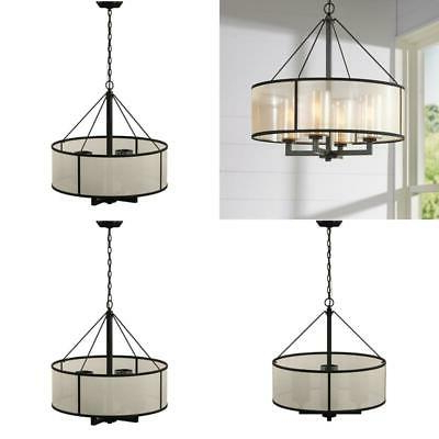 Dailey 4 Light Drum Chandelier – $ (View 7 of 25)